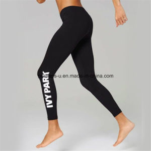 Quickly Dry Printing Women Fitness Pants Ladies Yoga Leggings pictures & photos