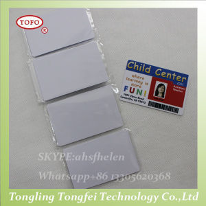 Blank Hico/Loco Magnetic Strip Inkjet PVC Card pictures & photos