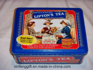 Lipton Tea Tin Box pictures & photos