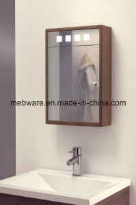 Solid Oak Fluorescent Bathroom Cabinet with Demister, Sensor pictures & photos