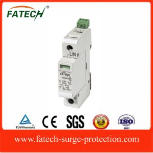 china electrical equipment 1P 2P 3P 4P power supply surge protector spd with remote control contact pictures & photos