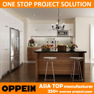 Oppein Project PVC and Lacquer Kitchen Furniture (OP14-PVC06) pictures & photos