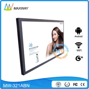 Android OS 32 Inch LAN/WiFi/3G Network Advertising Display pictures & photos