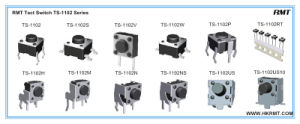 Tact Switch with SMD Type (TS-1102S) pictures & photos