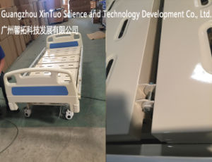 Weighing Type Hospital Bed 3 Function Mechanically Adjustable Medical Bed pictures & photos