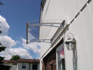 Waterproof Polycarbonate Door Canopy pictures & photos