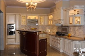 Solid Wood Kitchen Cabinets Furniture