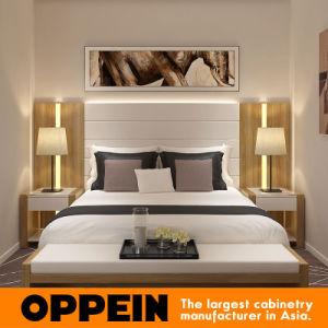 Manufacturer Modern Wood Grain PVC Living Room Hotel Furniture (OP16-HOTEL02) pictures & photos