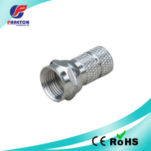 F Connector RG6/Rg58/Rg59 Zinc pH5388 pictures & photos