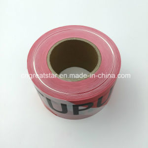 PE Warning Tape Red&White for Safety pictures & photos