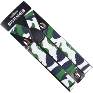 New Designs Cheap Price Printed Braces Mens and Womens Suspenders pictures & photos