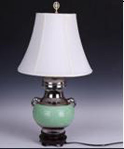 Chinese Antique Porcelan Desk Lamp pictures & photos