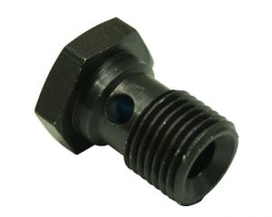 Special Black Oxided Steel Banjo Bolt OEM Precision Service pictures & photos