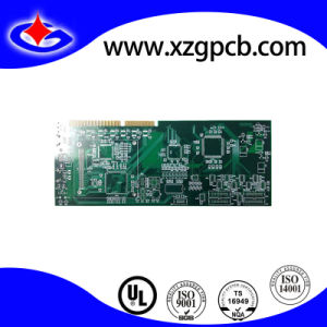 Gold Plating PCB with Gold Finger for USB Flash Drive pictures & photos