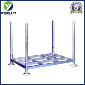 4-High Storage Hot Galvanized Euro Steel Pallets/Pallet Rack pictures & photos