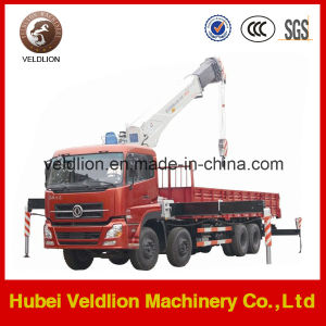 Dongfeng 8X4 16 Ton Truck with Crane pictures & photos