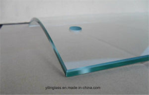 6mm 8mm 10mm 12mm Toughened Shower Screen Glass pictures & photos