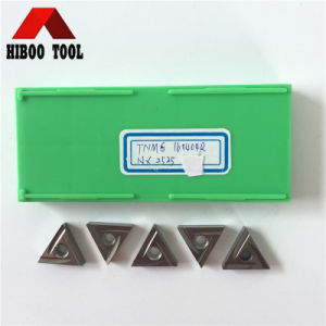 Hot Sale Tnmg160404r Carbide Inserts for Steel pictures & photos