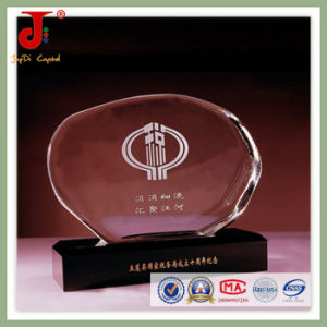 Optic Crystal Glass Round Blank Iceberg Block (JD-CB-319) pictures & photos