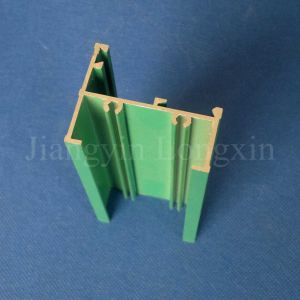 Green Powder Coated Aluminium/Aluminum Profile for Windows pictures & photos