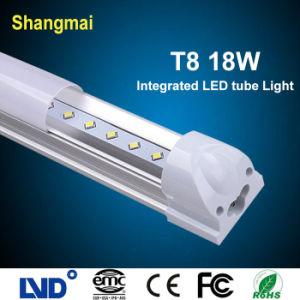 Integrated 4ft/1200mm 18W T8 LED Tube Light