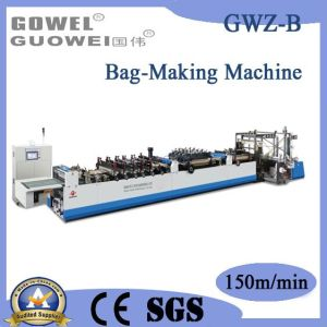 High-Speed 3 Side Sealing Zipper Standing Bag Machine (GWZ-B) pictures & photos