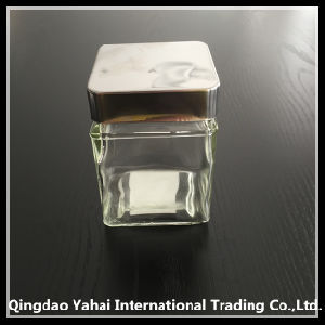 250ml Square Glass Storage Bottle pictures & photos