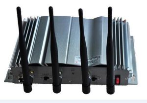 4 Band Desktop or Wall Mounted Mobile Wireless Signal Jammer for Examination Room pictures & photos