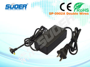 Suoer Factory Supply Power Adapter (SP-0902A-Double Wires) pictures & photos