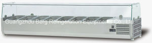 Counter Top Stainless Steel Pizza Refrigerator for Kitchen pictures & photos