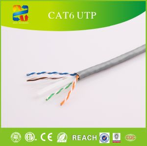 23AWG Solid Bc Conductor Cat-6 FTP Cable pictures & photos