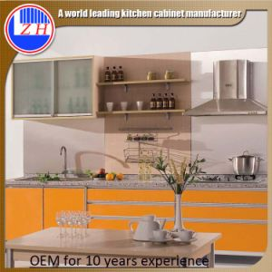 2015 New Plastic Kitchen Cabinet (zhuv) pictures & photos