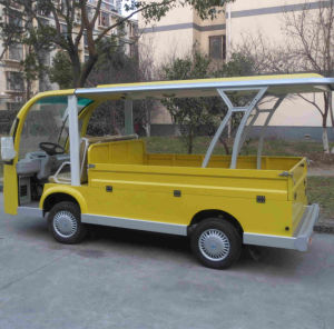 Electric People Mover, Passenger Carrier with Cargo Box pictures & photos