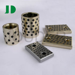 Bronze and Graphite Self-Lubricating Straight Guiding Bushing pictures & photos