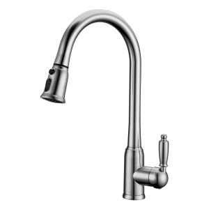 Special PVD Finished Pull out Kitchen Sink Faucet pictures & photos