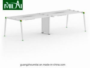 New Design Office Computer Desk with Stainless Steel Leg pictures & photos