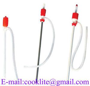 Plastic Syphon Transfer Drum Pump Manual Fuel Fluid Siphon Pump pictures & photos