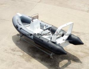Aqualand 16feet 4.7m Rigid Inflatable Fishing Boat/Motor Boat (RIB470B) pictures & photos