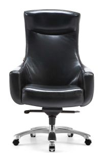 Modern Comfortable Cow Leather Task Chair pictures & photos