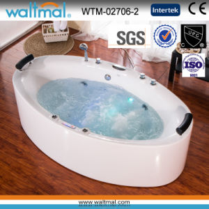 Long Quality Whirlpool Massage Bathtub with Bubble pictures & photos