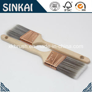 Superior Quality Nylon Paint Brush Natural White Bristle pictures & photos