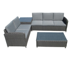 Garden Sofa Rattan Furniture Wicker Furniture Corner Lounge Sofa Set
