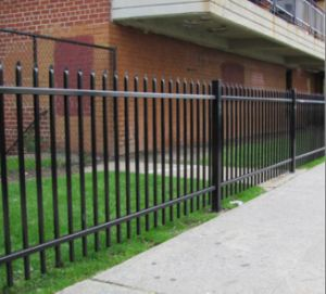 5foot*8foot Powder Coating Spear Top Steel Fence/Wrought Iron Fencing pictures & photos
