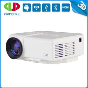 Mini HDMI Portable Support 10850p LED LCD Projector Kids Christmas Toys (M3) pictures & photos