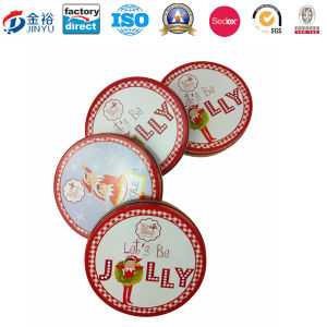 Round Shaped Metal Christmas Gift for Promotion Gift pictures & photos