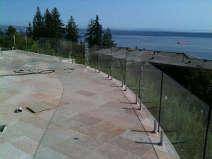 Glass Balcony Railing/Balustrade/Fence Stainless Steel pictures & photos
