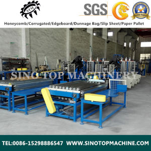 High Speed V Shape Automatic Edge Board Protector Machine pictures & photos