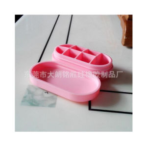 Waterproof Portable Silicone Pill Box in Seven Cells pictures & photos