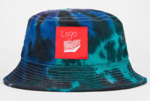 Custom Blank High Quality Wholesale Tie Dyed Bucket Hat pictures & photos