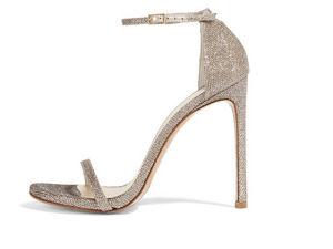 Grey Sexy Lady High Heel Women Sandal